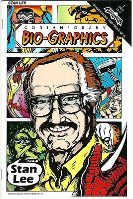 Contemporary Bio-Graphics #1 (1991) VF   Stan lee