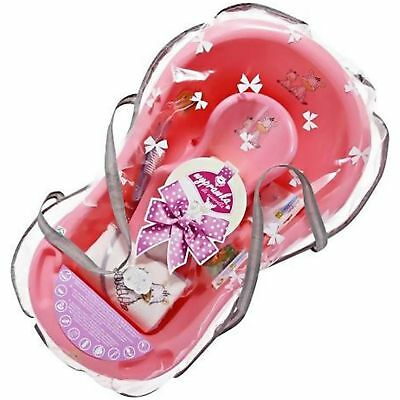 Maltex Zebra Collection Newborn Bath Gift Set - Pink From the Argos Shop on ebay