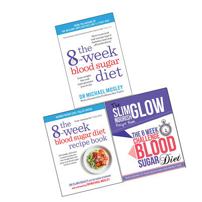 Blood sugar books collection 8 week recipe food essential super healing diabets