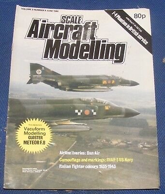 Scale Aircraft Modelling June 1980 - F-4 Phantom In British Service