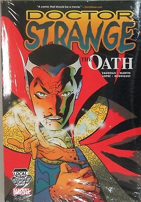 Marvel Doctor Strange The Oath Oversized Hardcover LCSD 2016 Exclusive B Vaughan