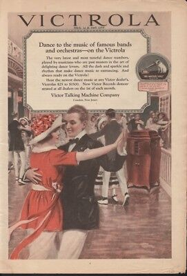 1920 Victor Victrola Py Dance Music Phonograph Rice16043