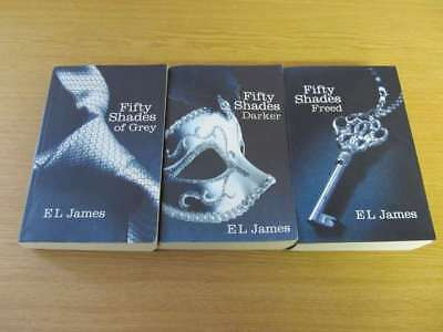 50 Shades of Grey, Darker & Freed Trilogy 3 Book Set - E L James E L James