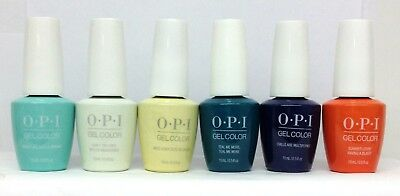 Gelcolor Soak-off Nail Polish GREASE Collection- Pick Any Color/Base/Top .5oz