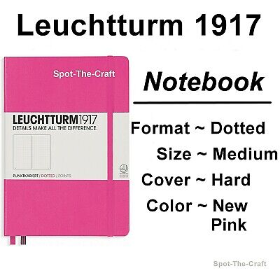 Leuchtturm1917 - Dotted Journal / Notebook - Medium A5 - New Pink