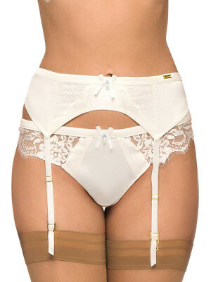 Ultimo Bridal Suspender Belt 021707 8 10 12 18 Lace Lacy Sexy Wedding Lingerie