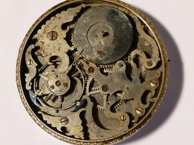 Bovet Fleurier Chinese Duplex P Watch Movement Polished Steel 2 Snakes Mythology