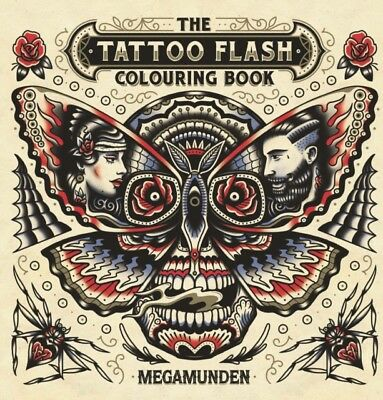 TATTOO FLASH COLOURING BOOK, Megamunden, 9781780679167