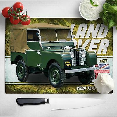 Personalised Land rover MK1 Wallet Classic Car Leather Men Dad Gift CL28