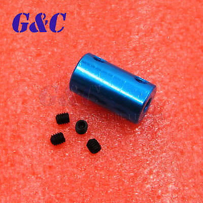 Useful Aluminum Flexible Shaft Coupling Rigid Coupler Motor Connector New
