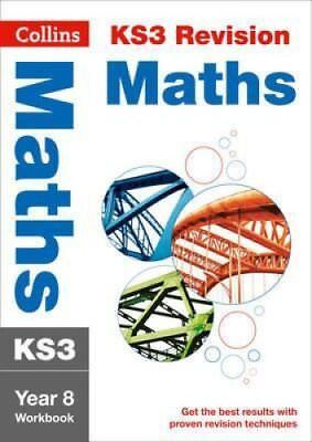 KS3 Maths Year 8 Workbook by Collins KS3 9780007562671 (Paperback, 2014)