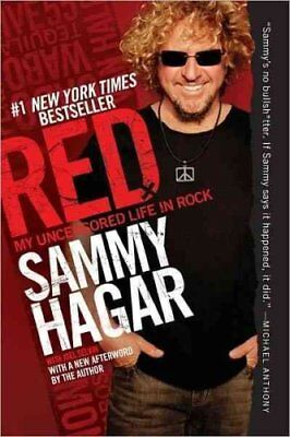 Red My Uncensored Life in Rock by Sammy Hagar 9780062009296 (Paperback, 2012)