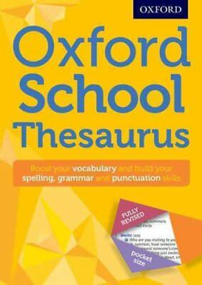 Oxford School Thesaurus by Oxford Dictionaries 9780192747112