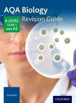 AQA A Level Biology Year 1 Revision Guide by David Applin (Paperback, 2017)