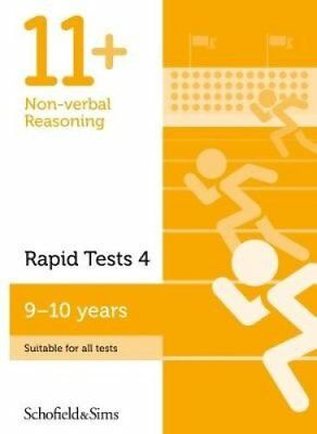 11+ Non-verbal Reasoning Rapid Tests Book 4: Year 5, Ages 9-10 9780721714660