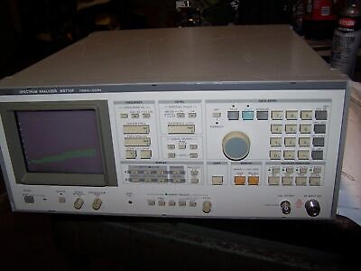 ANRITSU MS710F SPECTRUM ANALYZER 100 kHz - 23 GHz