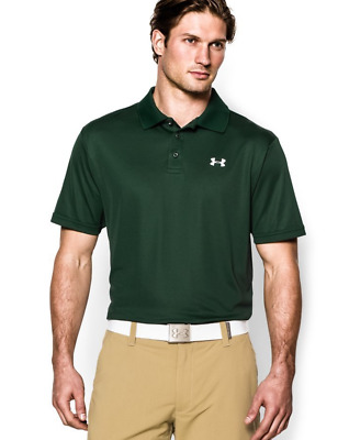 New With Tags Mens Under Armour Muscle Golf Polo Shirt All Sizes All Colors