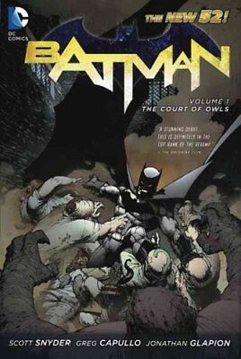 Batman Volume 1: The Court of Owls TP (The New 52) by Greg Capullo 9781401235420