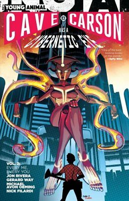 Cave Carson Has A Cybernetic Eye Vol. 2 Every Me, Every You 9781401277475