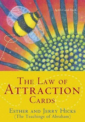 The Law Of Attraction Cards by Esther Hicks 9781401918729 (Cards, 2008)
