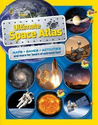 National Geographic Kids Ultimate Space Atlas 9781426328022 (Paperback, 2017)