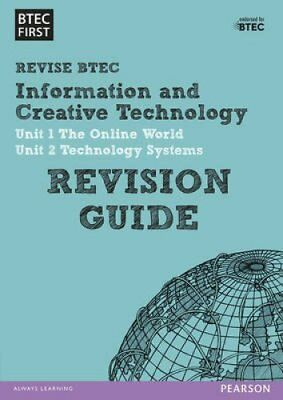 BTEC First in I&CT Revision Guide 9781446909799 (Paperback, 2014)