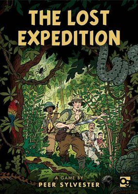 The Lost Expedition A game of survival in the Amazon 9781472824165 (Game, 2017)