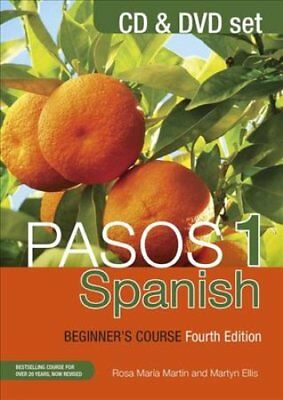 Pasos 1 Spanish Beginner's Course (Fourth Edition) CD and DVD set 9781473610767