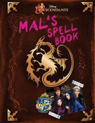 Descendants: Mal's Spell Book by Tina McLeef (Hardback, 2015)