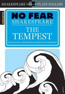 The Tempest (No Fear Shakespeare) by William Shakespeare 9781586638498
