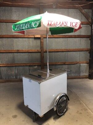 Ice Cream Italian Ice 3 Wheel Cart LOCAL PICK UP MD 800 Buy Cart Never Used!!