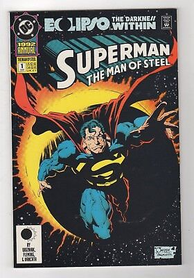 DC Comics Superman: Man of Steel Annual #1 Modern Age