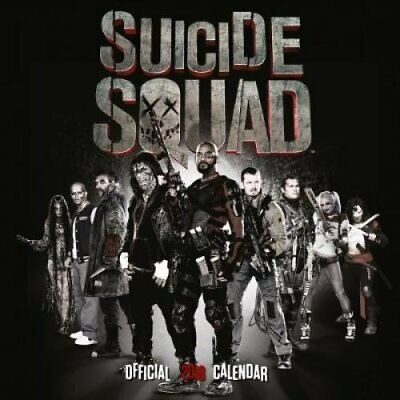Suicide Squad Official 2018 Calendar - Square Wall Format 9781785493911