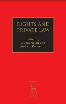 Rights and Private Law by Andrew Robertson 9781849466561 (Paperback, 2014)