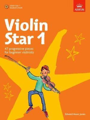 Violin Star 1, Student's book, with CD by Edward Huws Jones 9781860968990