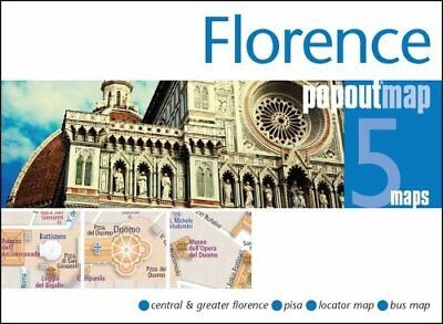 Florence PopOut Map Handy pocket size pop up city map of Florence 9781910218426