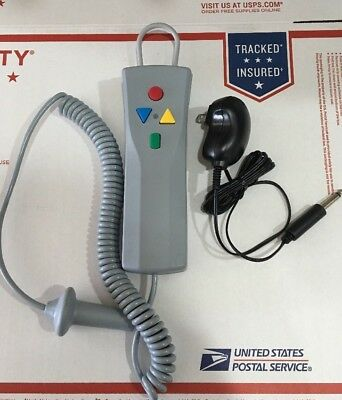 Drive Medical Bath Lift Remote Hand Controller w/ AC Adapter Power Supply