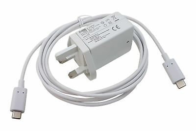 """For Apple MacBook 12"""" A1534 USB-C USBC 45W Charger (Replaces 29W) Laptop Type C"""