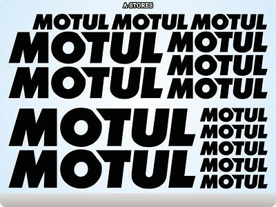 Motul Performance Racing Cars parts TUNING stickers decals vinyl Sports 52U