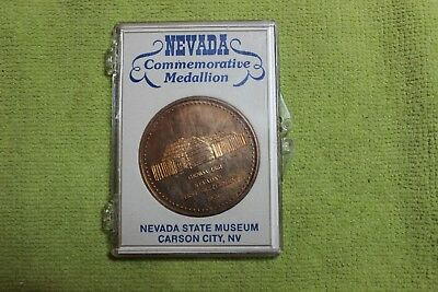 1978-Token-Coin-Medal-Genoa-Nevada's First Settlement-1851