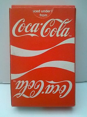Coca Cola Playing Cards  with Wave (1984) Unused