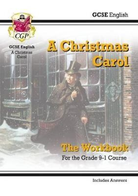 New GCSE English - A Christmas Carol Workbook (Includes Answers) by CGP Books...