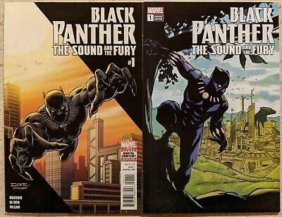 Black Panther The Sound and The Fury 1 Sanford Greene eBay Variant Avengers
