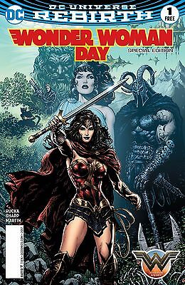 WONDER WOMAN DAY SPECIAL EDITION #1, New, First print, DC REBIRTH (2017)