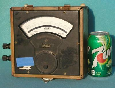 SENSITIVE RESEARCH INSTRUMENT CORP. ELECTROSTATIC VOLTMETER 3.0 kV