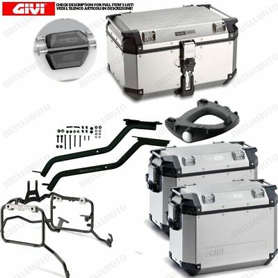 SET GIVI BAULETTO OBK58A AND CASES OBK37A BMW 800 F GS (K72) (d.10,5) 2008-2016