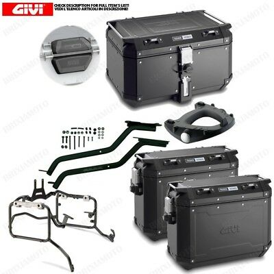 Set Givi Top Case Obk58B And Cases Obk37B Bmw S 1000 Xr (15 > 16)