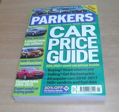 Parkers Car Price Guide magazine MAY 2018 Independent, Accurate & Trusted