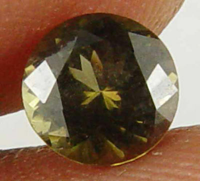 1.00CT Rare Round Cut 100% Natural Kornerupine 10090130