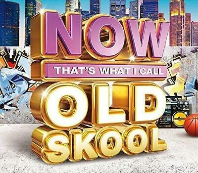 NOW That's What I Call Old Skool - Various Artists (NEW 3CD)
